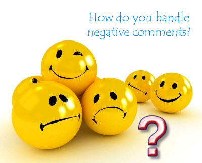 Handling Negative Comments