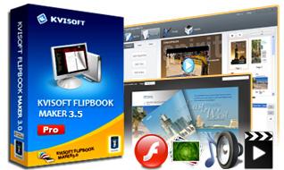 Kvisoft Flipbook Maker Pro (Giveaway)