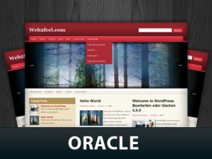 Oracle WordPress Theme