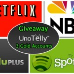 Giveaway#7: Win 3 UnoTelly 1-month Gold Subscriptions For Free