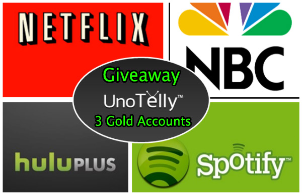 Win 3 UnoTelly 1-month Gold Subscriptions For Free