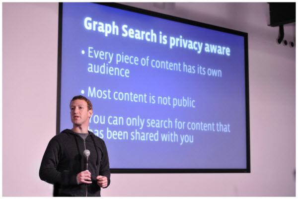 Graph Search Privacy