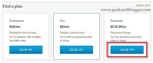 Get Free Akismet API Key