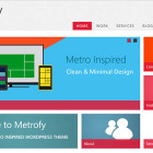Metrofy WP – Responsive Metro Inspired WordPress Theme