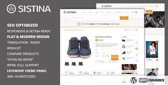 Sistina – Flat Multipurpose Shop Theme