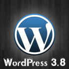WordPress 3.8 Update